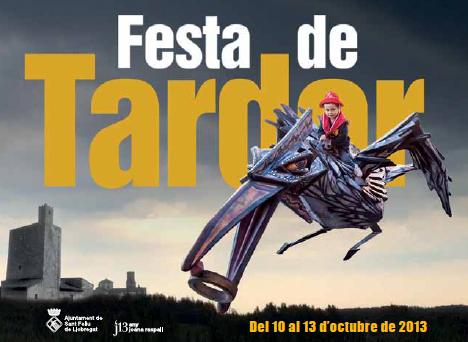 Portada del programa de la Festa de Tardor 2013. Fes clic per descarregar el programa.