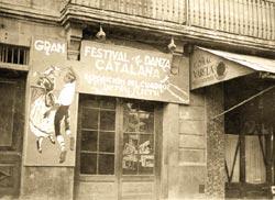 Façana del Centre Parroquial. 1953.