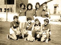 Equip femení d'handbol. 1962-1964