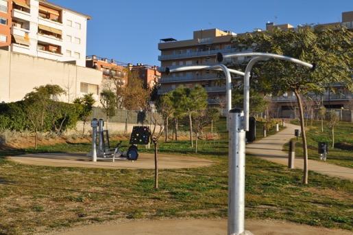 Espai d'exercici del Parc Europa