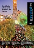 Imatge de la portada del butlletí número 445 del mes d'octubre de 2012. Accedeix a la informació d'aquest número fent clic.