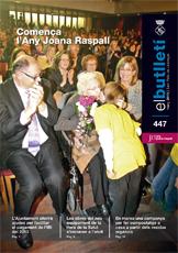 Imatge de la portada del butlletí número 447 del mes de març de 2013. Accedeix a la informació d'aquest número fent clic.