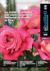 Imatge de la portada del butlletí número 448 del mes de maig de 2013. Accedeix a la informació d'aquest número fent clic.